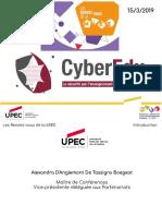 Conférence MIEE - Cybersecurité - présentation