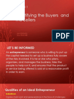 ICT&ENTREP LESSON 1 Identifying the Buyers  and the Sellers