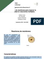 Reactor de Membrana