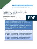 TALLER 2_PLANIFICACION DEL ENTRENAMIENTO