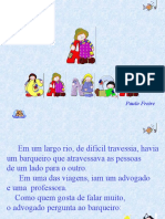 Paulo Freire - A canoa (com animação)