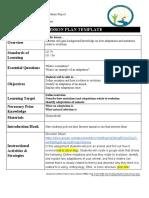 adaptation lesson plan  2