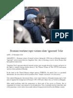 Victims of Rape Slam Angelina Jolie's Bosnia Movie