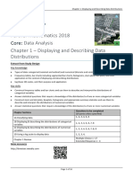 Chapter 1 Displaying & Describing Data Distributions -  CAMBRIDGE