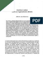 America Latina hacia un regionalismo abierto