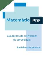 Matematicas II Cuarderno de actividades aprendizaje