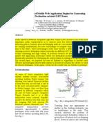 A Dijkstra Based Mobile Web Application Engine for Generating Destination-Oriented LRT Route