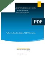 Taller_Análisis estratégico_FODA Simulacion_Q4-2019.docx