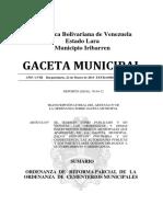 ORDENANZA DE CEMENTERIOS