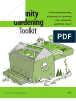 Community Gardening Toolkit - University of Missouri