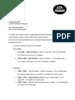 TALLERES VACACIONALES 2020
