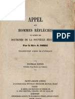 Samuel Noble APPEL aux hommes reflechis de toutes denominations Saint Amand 1862 (Traduit de l'anglais Boston 1826 1830 1845 et de nombreuses editions anglaises depuis lors)
