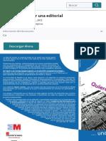 14 Quiero montar una editorial   Análisis FODA   Mercado (economía)