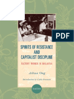 (SUNY Series in the Anthropology of Work) Aihwa Ong - Spirits of Resistance and Capitalist Discipline_ Factory Women in Malaysia-State University of New York Press (2010).pdf