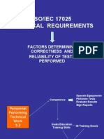 17025 Technical Requirements
