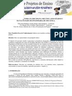 Projeto monitoria de mecanica dos solidos I