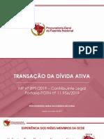 Apresentação PGFN - Port 1195619 - Transação Tributária
