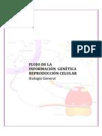 Flujo de la informacion genetica y reproduccion celular