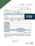 formulario SENECYT