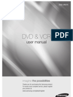 Samsung-VR375 Dvd Vcr Recorder User Manual