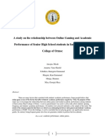 Research paper about online games and academics