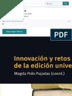 Innovación y retos | Libros | Imprenta