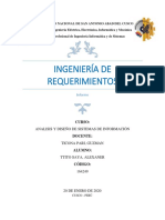 Articulo Ingenieria de Requerimientos
