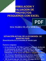 Clase 1 FORMULACION Y EVALUACION DE PROYECTOS PESQUEROS 2019-II