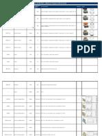 Lista de Componentes - Máquina de Furação de Perfil de Escada1