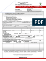 Unified Business Permit Application Form