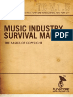 Music Industry Survival Manual-Volume 1.5, Copyright.