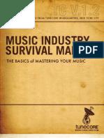 Music Industry Survival Manual-Mastering