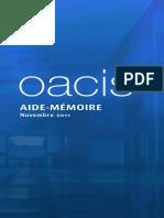 OACIS; Memorial