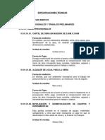 01. ESPECIFICACIONES TÉCNICAS