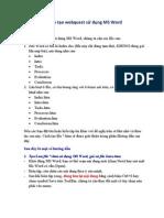 Huong Dan Tao WebQuest Bang MS Word