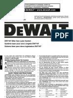 Dewalt DW7187 - Miter Saw Laser