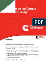 Load Attributes and Generator Sizing (SPANISH)