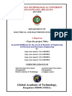 10EEP85-PROJECT-REPORT-COVERPAGE AND TOC-2017-2018