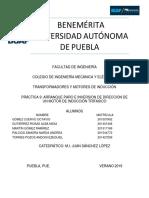 BENEMÉRITA UNIVERSIDAD AUTÓNOMA DE PUEBLA, Transformadores, Inversion de Giro de un Motor