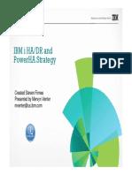 IBM i HA_ DR and PowerHA Strategy.pdf