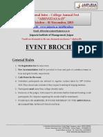 EVENT BROCHURE (Abhyudaya,2015)