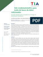 Software para el Diseño con Modelo Pseudomatemático de Jhon Jairo Londoño