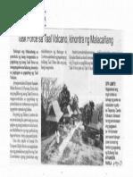 Balita, Jan. 21, 2020, Task Force sa Taal Volcano kinontra ng Malacanang.pdf