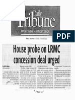 Daily Tribune, Jan. 21, 2020, House probe on LRMC concession deal urged.pdf