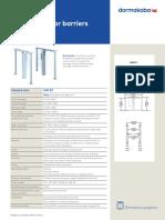 Dormakaba - HSB E011. Brochure