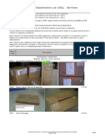 Visual Defect Classification List - SL