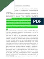 16085983 Proyecto Kantiano de La Metafisica