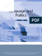 CDA - Politics - Language & Politics (whole book)