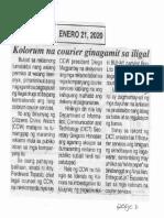 Ngayon, Jan. 21, 2020, Kolorum na courier ginagamit sa iligal.pdf