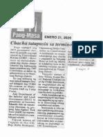 Pang-Masa, Jan. 21, 2020, Chacha tatapusin sa termino ni Digong.pdf